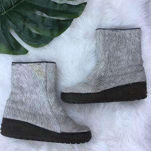 Vintage Arktis Nordic Yetti Fur Boots 10